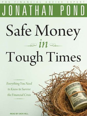 cover image of Safe Money in Tough Times